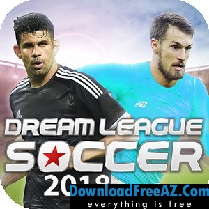 Dream League Soccer 2018 APK MOD + Data Hacked Free Download